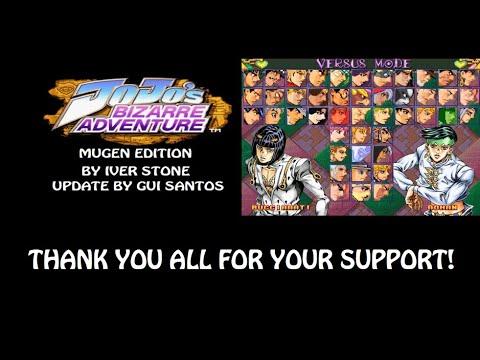 Jojo Bizarre Adventure Mugen Download Go Go Free Games