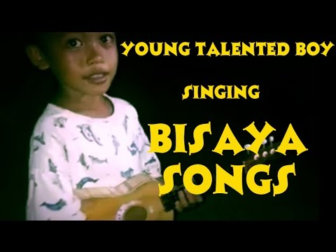 Young Talented Boy Singing Bisaya Songs