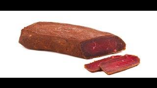 а-ля билтонг (biltong) вяленое мясо