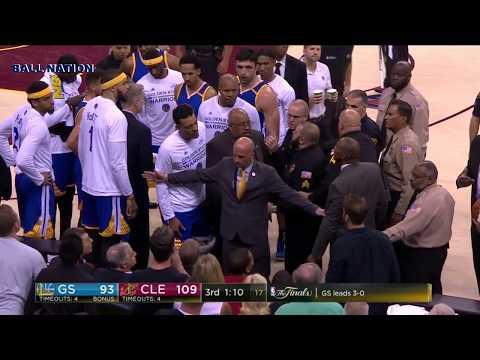 Fan Gets Ejected | Game 4 | Warriors vs Cavaliers | 2017 NBA Finals