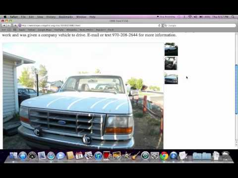 Craigslist Colorado Used Cars for Sale by Owner