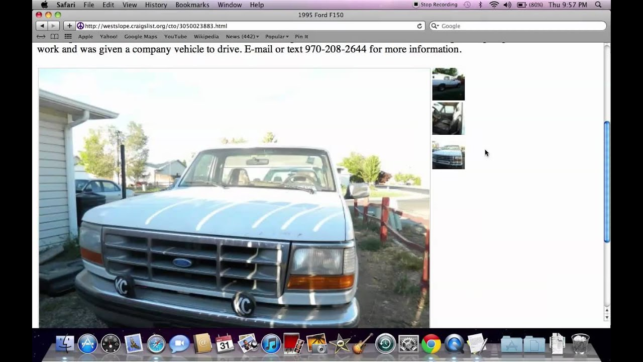 Craigslist Grand Junction CO - Used Cars and Trucks by Private ...