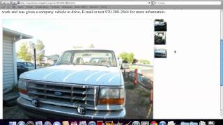 craigslist colorado used cars for sale by owner youtube. Black Bedroom Furniture Sets. Home Design Ideas