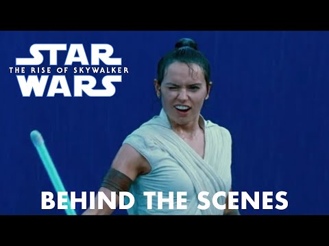 Star Wars The Rise of Skywalker Rey vs Kylo Ren Behind the Scenes