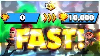 FAST 0 to 10,000 Trophies WITHOUT MONEY! Hourly Giveaways! Episode 15