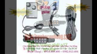 EQ Guitar - Pickup - Đàn Guitar, Đàn Ghita