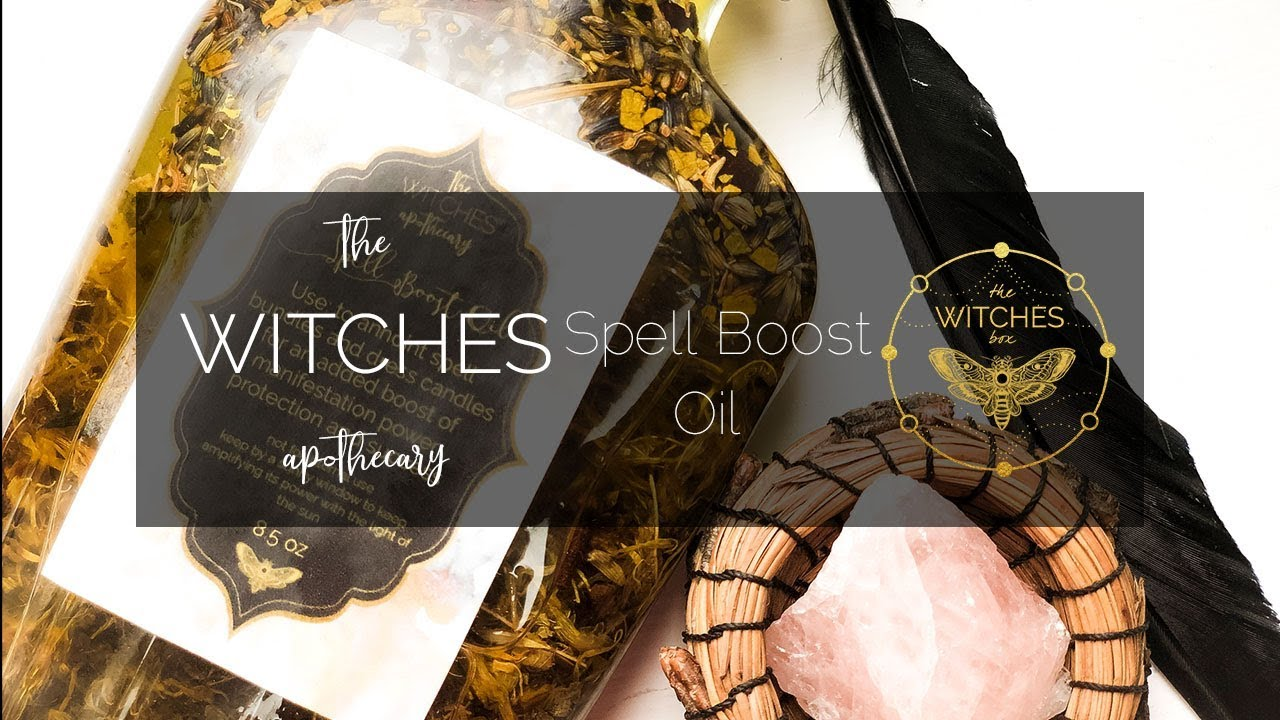 The Witches Apothecary: Spell Boost Oil - YouTube