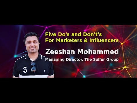 Zeeshan Mohammed I Managing Director, The Sulfur Group