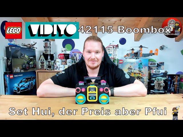 Gutes Set, aber der Preis ist eine Katastrophe | Lego® 43115 Review | Lego® Vidiyo 43115 Boombox