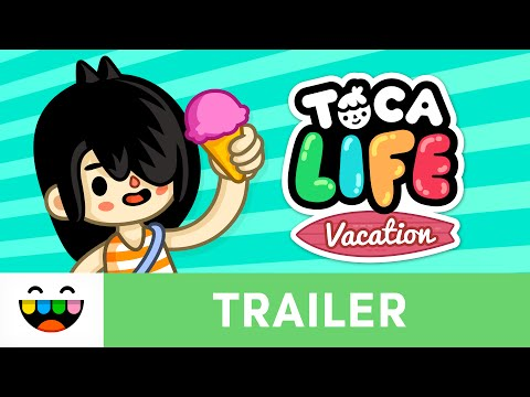 Go On Vacation in Toca Life: Vacation | Gameplay Trailer | @TocaBoca