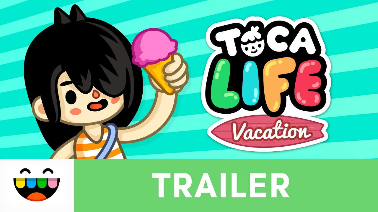 Go On Vacation In Toca Life Vacation Gameplay Trailer Tocaboca Youtube