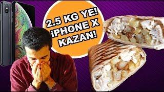 iPhone X ÖDÜLLÜ YEME CHALLENGE | SİZ DE KAZANABİLİRSİNİZ!