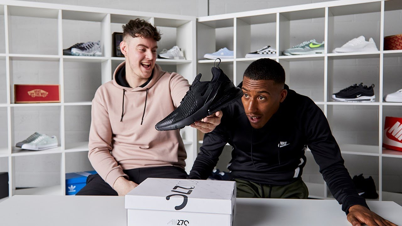 65cc373d80 Unboxed: Nike Air Max 270 ft. Yung Filly and Hicks. Footasylum