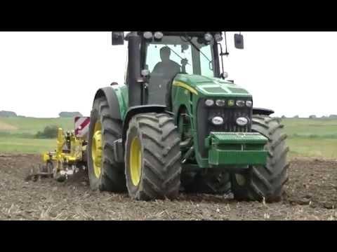 John Deere 8430 + Bednar Terraland TN 3000 HD 7 R Plus