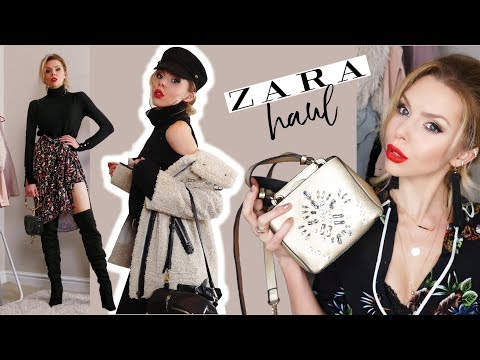 HUGE ZARA SALES HAUL UNBOXING AND TRY ON 2018