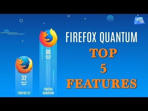 Here are the top 5 new features of New Firefox: Firefox Quantum | TechTak