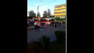Витебск разборка на пешеходном переходе