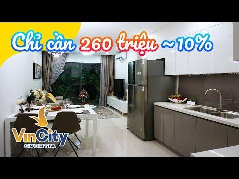 Vinhomes Smart City căn hộ 3 ngủ TRẺ TRUNG, HIỆN ĐẠI: 2.6 tỷ - 3 ngủ - 75.1m2 (Tây Mỗ)