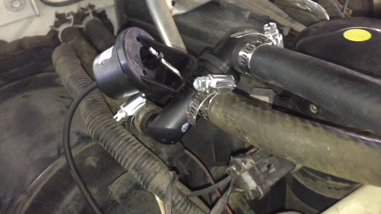 heater core bypass ford super duty ac boost youtube