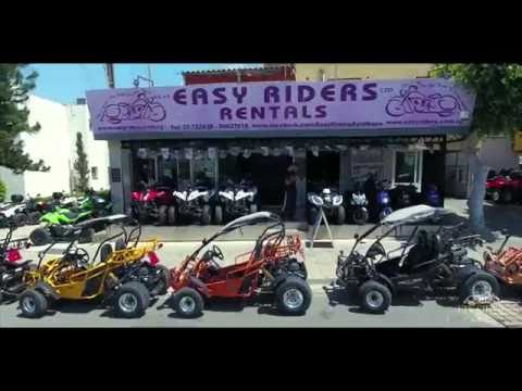 EASY RIDERS RENTALS AYIA NAPA 2016 Quad bikes-Buggies-Scooters-Mopeds for hire