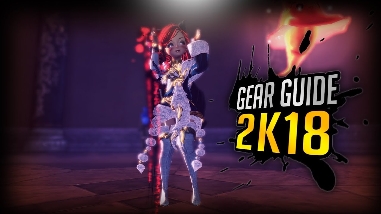 Bns Force Master Gear Guide Youtube