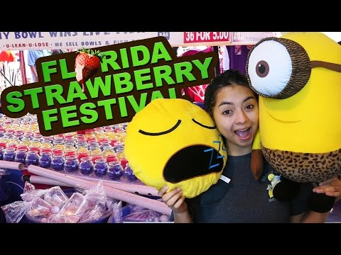 Florida Strawberry Festival 2016 - Carnival Games