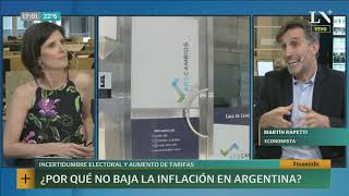 ¿Por qué no baja la inflación en la Argentina?