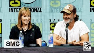 The Walking Dead: 'Andrew Lincoln on His Accent' Comic-Con 2017 Panel