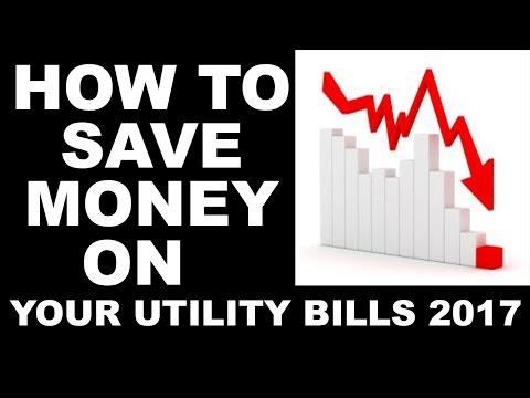 How to Save Money on Your Utility Bills 2017