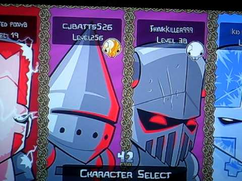 256 Glitch Castle Crashers!