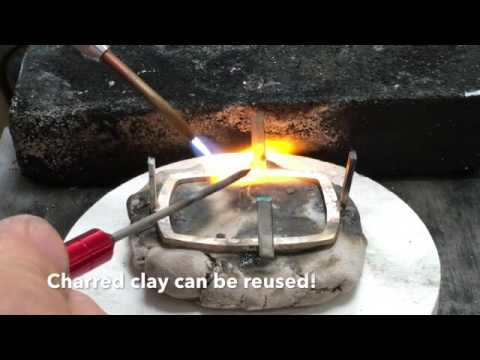 Soldering with Kate Wolf's Soldering Clay