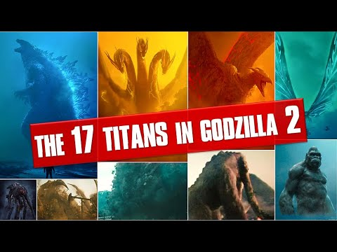 Download 17 Titans Seen in Godzilla: King of the Monsters(2019)| Explained