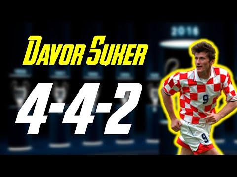 FIFA Online 4 | Cách đá sơ đo 4-4-2 cùng với Davor Suker