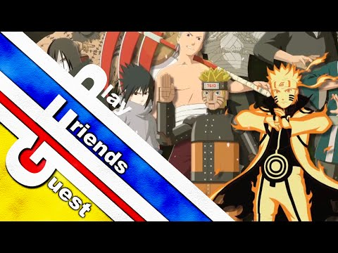 Guest Friends Play: NARUTO SHIPPUDEN Ultimate Ninja STORM Revolution (feat. Blianga Spectide)