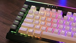 Corsair PBT Keycap Set Review and Sound Test