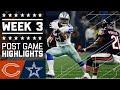 Bears vs. Cowboys | NFL Week 3 Game Highlights