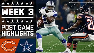 Bears vs. Cowboys (Week 3) | Post Game Highlights | NFL by : NFL