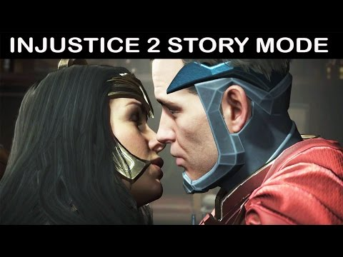 Injustice 2 All Cutscenes (Game Movie) FULL Story Mode - Justice League 2017