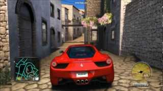 Test Drive Unlimited 2 Ferrari 458 Italia Gameplay (HD)
