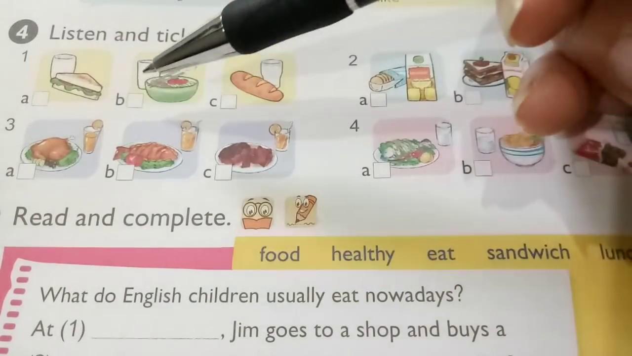 Hướng dẫn học Tiếng Anh lớp 5 Unit 17 lesson 1
