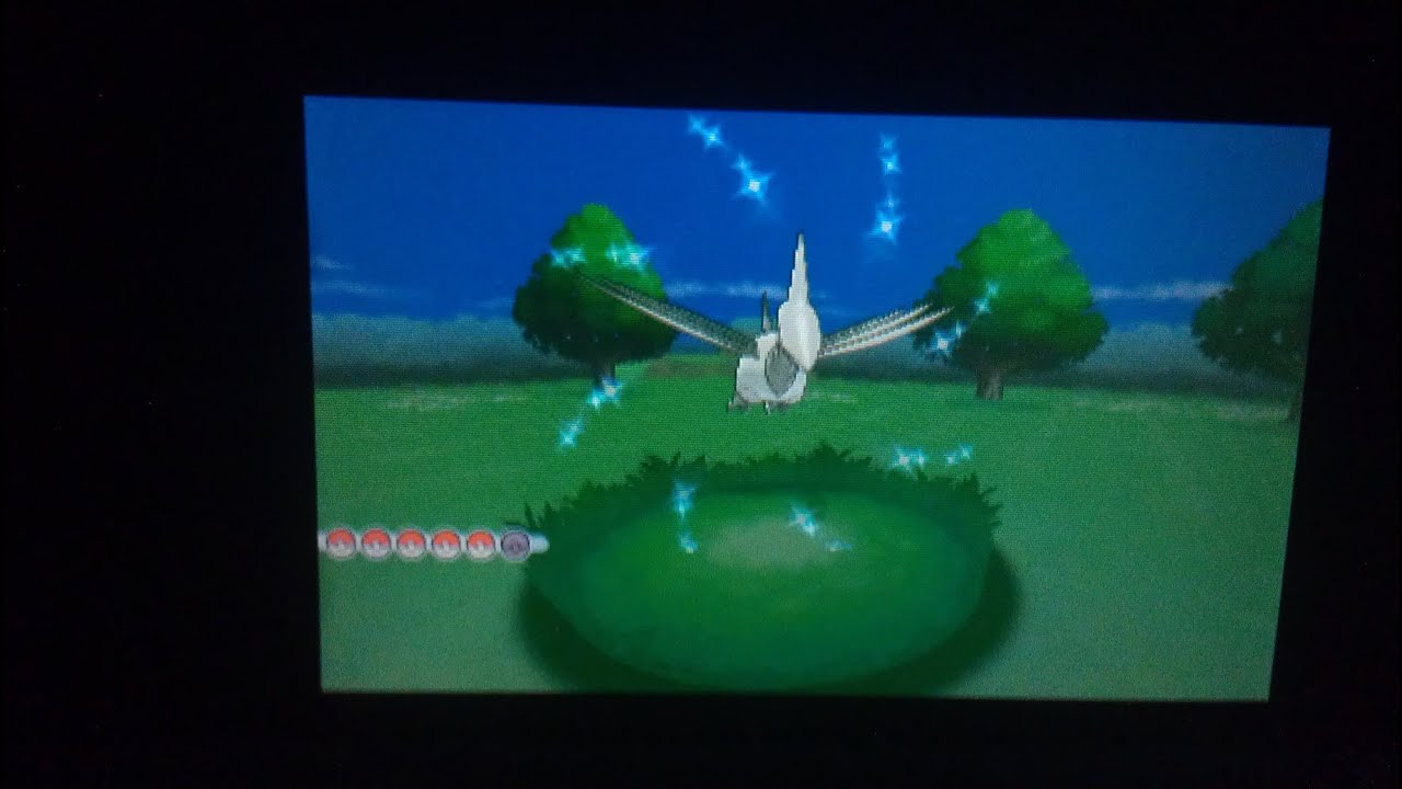 Pokemon X And Y Shiny Skarmory Encounter Friend Safari