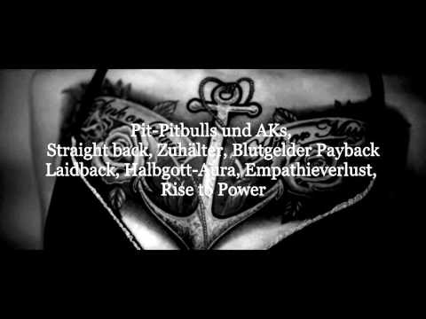KOLLEGAH - PITBULLS & AK'S | LYRICS