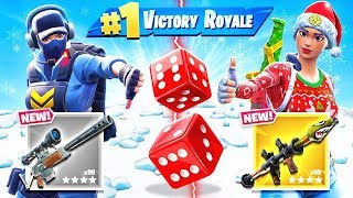 RANDOM Weapon DICE CHOOSER *NEW* Game Mode in Fortnite Battle Royale