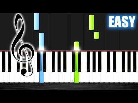Scarborough Fair - EASY Piano Tutorial by PlutaX