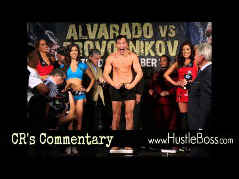 Mike Alvarado weighs in a pound over, makes weight on second attempt [CR's Commentary]