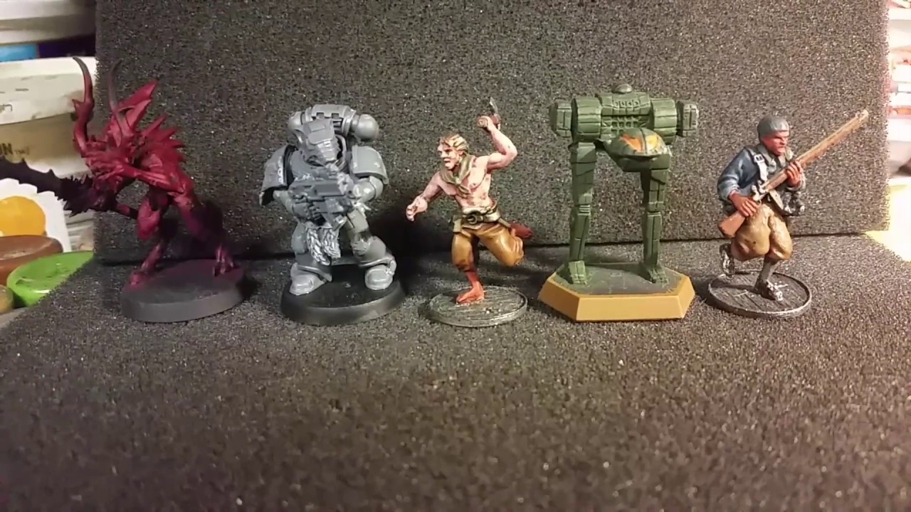 Blood & Plunder 25mm Miniature Scale Comparison