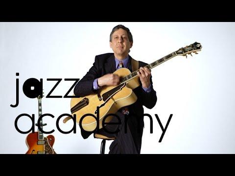 Acoustic Guitar Set up for Big Band Jazz