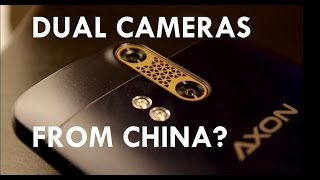 AXON ZTE CHINESE SMARTPHONE UNBOXING/REVIEW !