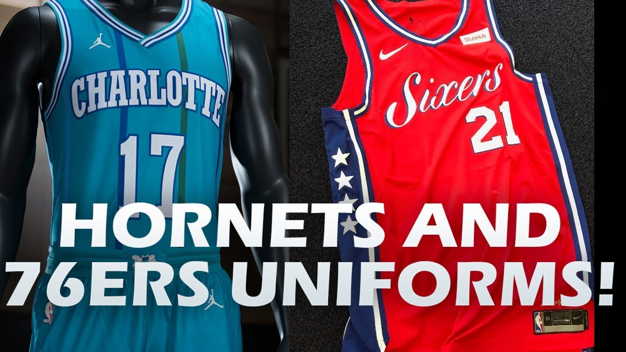 new concept 7d7bb 8f665 76ERS STATEMENT JERSEYS AND HORNETS CLASSIC JERSEYS REVEALED! NEW UNIFORMS