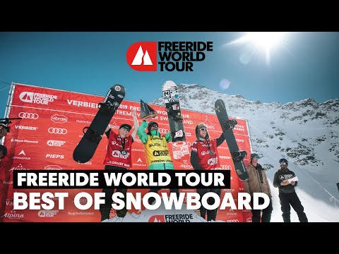 The Best Freeride Snowboard Lines Of 2019 | Freeride World Tour
